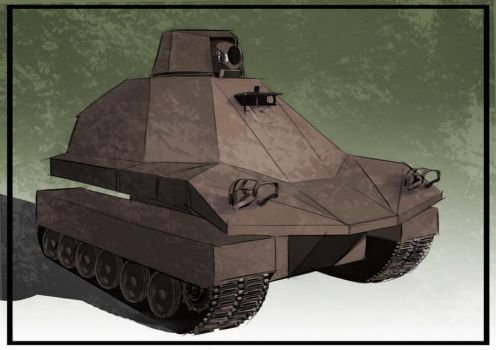 Stealth Tank by Miran