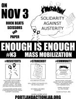 Austerity: Enough is Enough! by Spat500