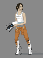 Chell by katribou
