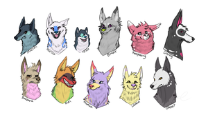 All of my dawgs 2 by oOIceFangOo
