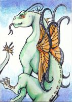 Dragonfly ACEO Collab by Stormslegacy