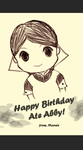 HBD Ate Abby by Marniebright