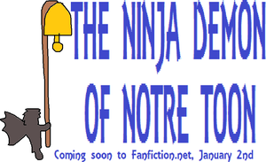 The Ninja Demon Of Notre Toon by jacobyel