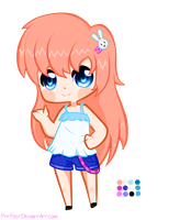Chibi Adoptable [CLOSED] by Prrfect