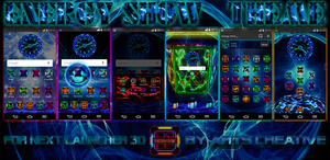 UPDATE!!! NEXT LAUNCHER 3D THEME EnergyShow by ArtsCreativeGroup