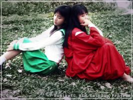 Inuyasha and Kagome cosplay 2 by DiaryDream
