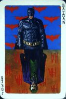 Batman - Joker Playing Card by JohnHLynch