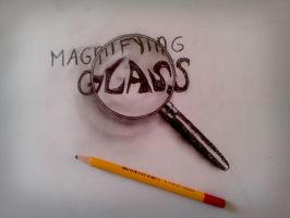 Magnifying glass by JJKAirbrush