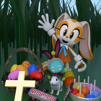 Happy Easter/Resurrection Day! by Spinosaurusking875