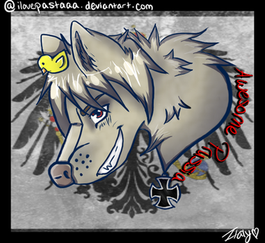 Awesome Prussia Wolf by ilovepastaaa