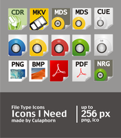 My file type icons preview by Culaphorn