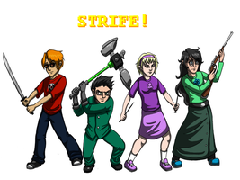 Strife 4 Life by Kitty-Quixotic