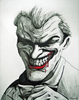 Arkham City Joker Drawing by cusT0M
