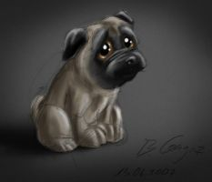 Little Pug by Xirmatul