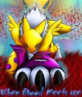 Renamon Claw final by IceRenamon
