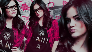 Signature with Lucy Hale by kissmeorkillme