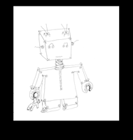 Robot2not Colored by teddybearcholla