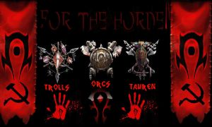 WoW FOR THE HORDE by TheRedSabre
