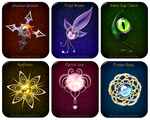 Magic items set (4) by Rittik-Designs