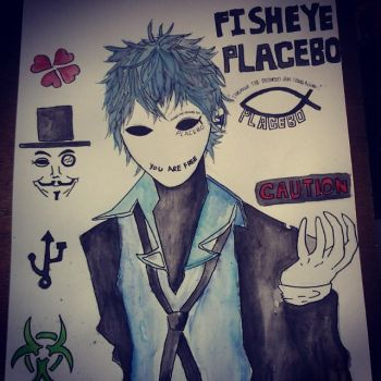 Fanart of Yuumei's Fisheye Placebo by MeoSawamura