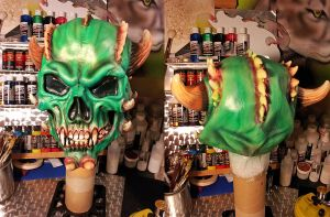 Green Demon by dx