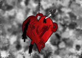 Heart on a string by wolfpupgrl14