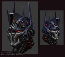 Optimus Prime Core Corruption by mohzart