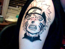 naruto tattoo by SkunkSean