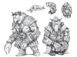 On the Shoulders of Heroes- Bugbears by eoghankerrigan