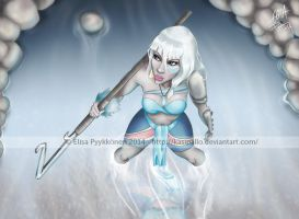 Warrior princess by Kasipallo