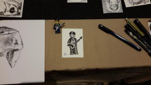 Leprecon 2015 - Sketch Card Commission by Tadpole7