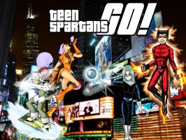 Teen Spartans....GO by Hisan