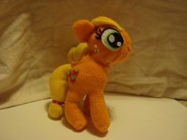 Fan Made Apple Jack Plush by spidyphan2