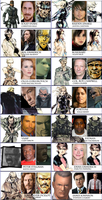 Metal Gear Solid 2 Movie Cast by Simetra666