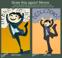 Draw This Again! meme by kuroineko