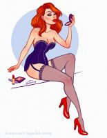 Jessica Rabbit by Wowiie