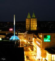 Evening in Kassel by Niophee