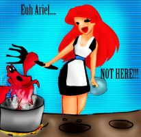 Ariel hungry by Sonala