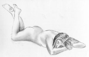 040214 Lifedrawing 20min005 by mickyjenver