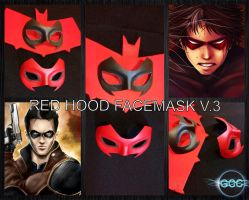 GCC Red Hood Masks by Cadmus130