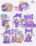 Panini on Chowder's clothes doodle - part 3 by murumokirby360