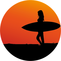 Surfergirl by WisdomX