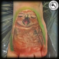 Owlet by arturtattooart