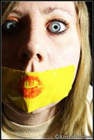 Yellow Duct Tape by Kersten-Photography