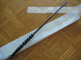 Wand Selections: Ebony by BlackRoseBandKitsune