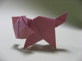 Origami Cat by GEN-H