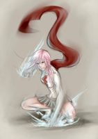 Lady Lightning by RedKid11