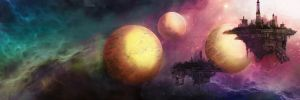 Space Barges Final by ryanmalm