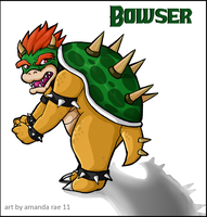Bowser by Dominoblox