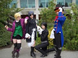 Black Butler Group by xoSierraBearzox